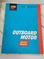 Abos Marine Outboard Motor Service Manual - 3rd edition 1965 (A18)