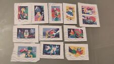 Nouveauté 2020 Série 12 timbres oblitérés - Mon spectaculaire carnet