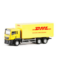 MAN TGS Express DHL Container Truck 1/64 Scale Model Car Diecast Toy Vehicle