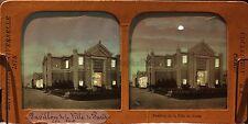 Pavillon ville de Paris Exposition universelle Paris 1878 Diorama Stereo Albumin