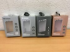 GOODMANS POWER BANK 4000mAh DUAL USB SMART PHONE CHARGER NEW
