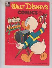 Walt Disney's Comics and Stories 159 F+ (6.5) 12/53 Carl Barks artwork!