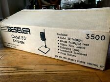 Beseler Cadet 35 35mm Darkroom Enlarger UNUSED with all original parts