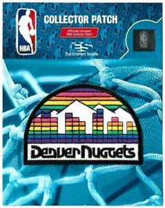 Denver Nuggets Skyline Patch Official NBA Basketball League Logo Memorabilia
