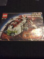Lego Star Wars Republic Destroyer instructions seulement pas de LEGO.