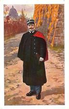 CITTA' DEL VATICANO  -  Gendarme in tenuta invernale