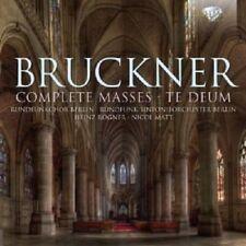 RUNDFUNKCHOR BERLIN/RÖGNER/MATT/+- COMPLETE MASSES/+ 3 CD KLASSIK NEU BRUCKNER