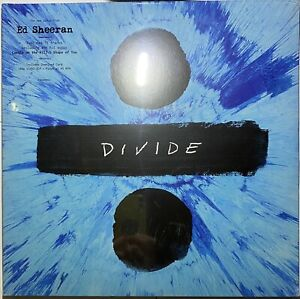 Ed Sheeran - Divide 2 LP Double Vinyl 16 Track 2017 Brand New