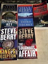 Thriller history archeology conspiracy novels Rollins Berry