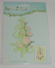 Leane Creatief cutting die FLOWERING SPRIG 0560