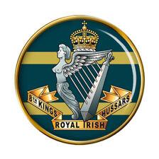 8th King's Royal Irish Hussars, British Army Pin Badge