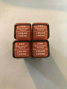 (4) Covergirl Exhibitionist Cream Lipstick, 280 Decadent Peach