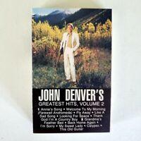 John Denver - Cassette - Greatest Hits Volume 2