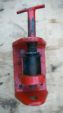 More details for tow hitch 8 x 5 x 1 inch bar mounting holes 3.5 x 3.5 inch x 0.6 inch
