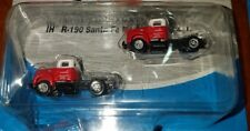 Pack Of 2 Mini Metals 1:160 N Scale Santa Fe 1954 International R-190 Tractors