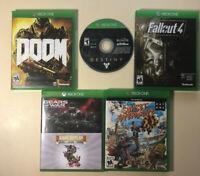 Xbox One - 5 Game Bundle - Fallout, Doom, Destiny, Etc.