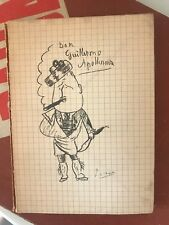 APOLLINAIRE - ERAVAMO DA POCO INTANTO NATI, STRENNA PER GLI AMICI, 1980