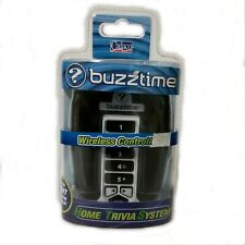Buzztime Home Trivia System Wireless Controller - Black Silver Trim