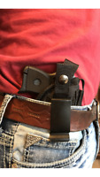 IWB Concealed Ultimate Gun holster With Magazine Pouch For Ruger LCP 2