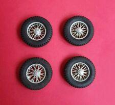 Dinky Toy, Original Spoked wheels, 16 mm Diameter x 4, NEW