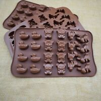 Silicone Bear Cake Chocolate Mould Candy Cookie DIY Decorating Baking Mold #NE8