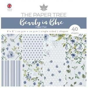 """The Paper Tree """"Beauty in Blue"""" Collection Card Making Paper Pads"""