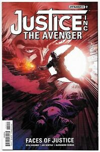 Justice Inc The Avenger Faces of Justice #2 (Dynamite, 2017) VF/NM