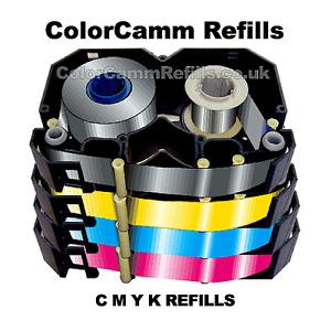 Color Camm CMYK AntiSnap Ribbon Refills & Blades - Roland PC60 PC600  PC12  PC50