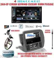 KENWOOD RADIO DDX392 + SCOSCHE GM5201AB 2010 & UP CHEVY CAMARO DASH KIT INSTALL