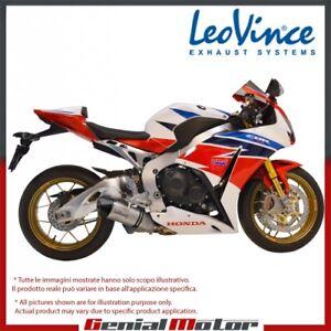 HONDA CBR 1000 RR/SP/ABS 2014 14 LEOVINCE EXHAUST LV ONE EVO STEEL 14106E