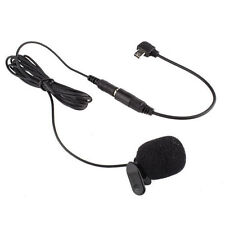 External 3.5mm Microphone Clip On Mic+ Adapter Cable for Go Pro Hero 3 Hero 3+