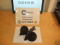Renault Clio II PH2 2001-2006 Twin Horn Unit **3 Months Warranty**