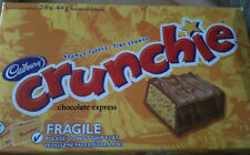 24 CADBURY CRUNCHIE FULL SIZE CHOCOLATE BARS CANADIAN MADE *FAST SHIPPING*
