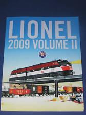 2009 LIONEL VOLUME II