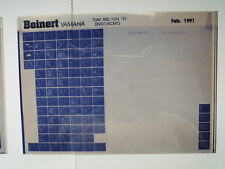 Yamaha TDM 850 H/N Bj 1991 Microfilm Catalogo ricambi Erzatztteil Listello