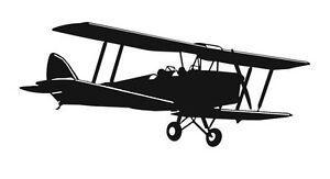 Tiger Moth Aufkleber