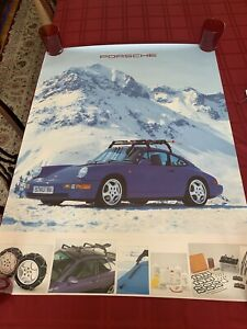 Porsche 911 Dealership Advertisement Accessory Poster