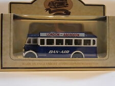 LLEDO LP17 095A 1932 AEC REGAL SINGLE DECK BUS - DAN AIR - LONDON to ABERDEEN