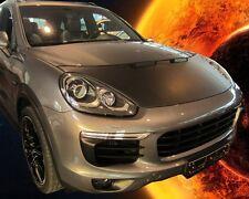 Porsche Cayenne since 2014 CUSTOM CAR HOOD BONNET BRA FRONT MASK BRA DE CAPOT