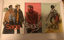 Saga Volume 1,2&3