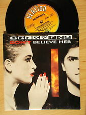 "Scorpions 7"": don 't Believe her/Kicks after six (uk; ver 52)"