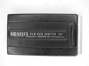 Graflex Film Pack Adapter 2 1/4 x 3 1/4