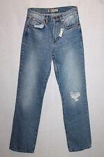 ZARA Brand Blue High Rise Fit Straight Leg Denim Jeans Size 6 BNWT #Si77