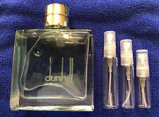 Dunhill Fresh Men's 3ml 5ml 10ml Decant Sample in Clear Glass Atomizer
