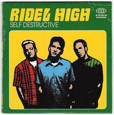 Ridel High - Self Destructive [1998 A&M Promo CD Single] Rare, OOP Emo, Weezer