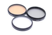 Set of Merkury Optics 52mm Filters - UV Filter , PL Filter and F-DL Filter
