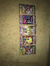 Pokémon x and y: 5 unopened packs, 3 phantom forces and 2 roaring skies
