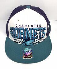 NBA CHARLOTTE HORNETS Hat Cap Snapback 47 Brand Teal Purple