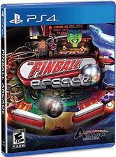 Sony PS4 Playstation 4 Spiel Arcade Pinball neuw. 20 Tische Star Trek usw.