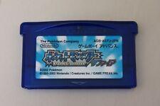 Pokemon Sapphire Pocket Monsters Nintendo Game Boy Advance GBA Japan!